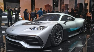 Mercedes-AMG Project 1 live - front