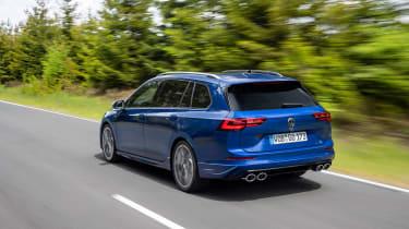 Mk8 Volkswagen Golf R – rear quarter