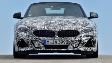 New 2019 BMW Z4 – front