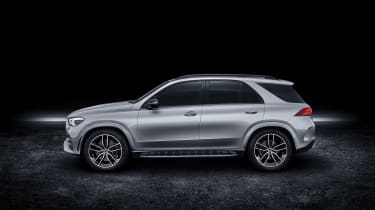 Mercedes GLE AMG-line - side