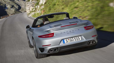 2013 Porsche 911 Turbo Cabriolet rear