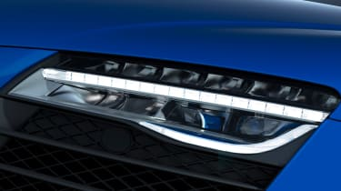 Audi R8 LMX laser headlight
