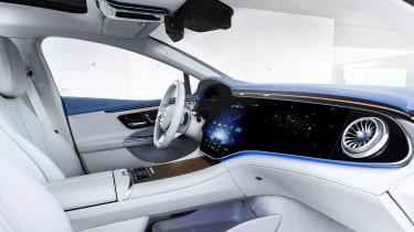 Mercedes-Benz EQE AMG-Line – interior