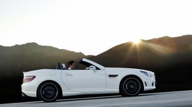 New Mercedes SLK55 AMG news and pictures
