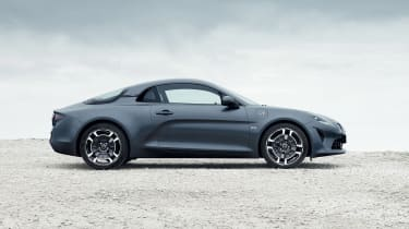 Alpine A110 Pure and Legende - side