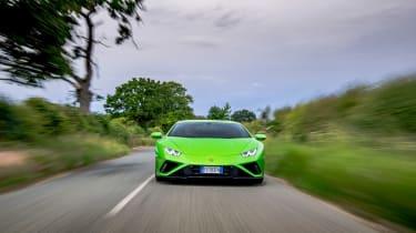 Lamborghini Huracán Evo RWD – front tracking