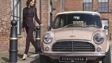 David Brown Automotive Mini Remastered front pink