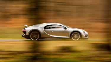 Bugatti Chiron – side