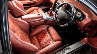 Aston Martin DB7 Zagato - pictures interior