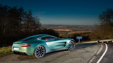 Aston Martin One-77 - rear static
