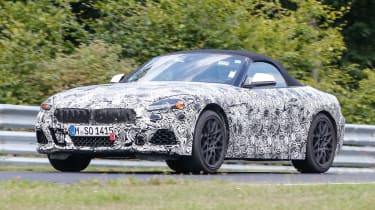 2018 BMW Z4 spotted - Front