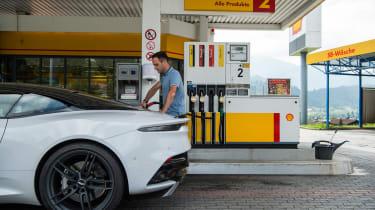 Aston Martin DBS Superleggera drive - FUEL