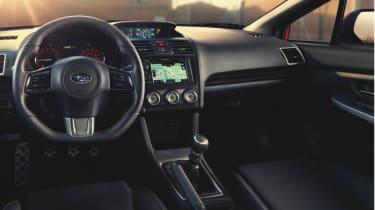New Subaru WRX interior dashboard steering wheel