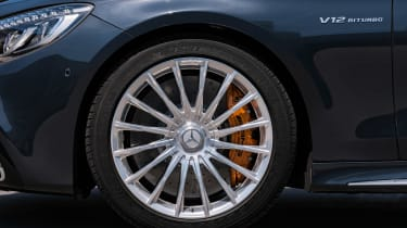 Mercedes S 65 Coupe - wheel