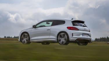 VW Scirocco R white