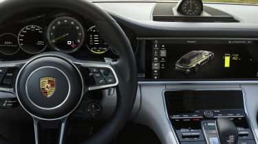 Porsche Panamera Turbo S E-Hybrid Sport Turismo - interior 2