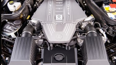 Mercedes-Benz SLS AMG – engine