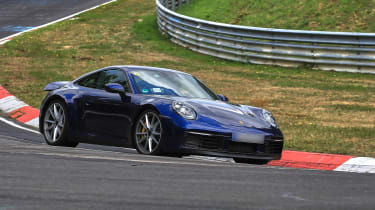 992 Porsche 911 prototype - front