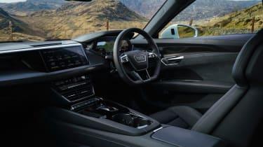 Audi e-tron GT quattro – interior