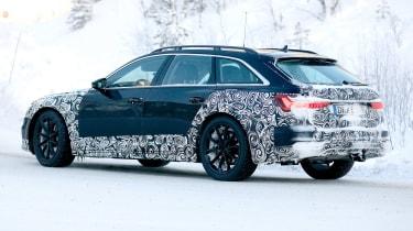 Audi A6 Allroad 2019 spied - rear quarter