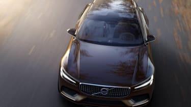 Volvo Concept Estate front view