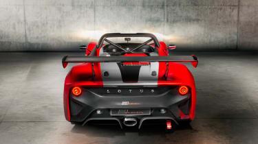 Lotus 3-Eleven – rear