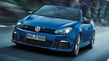 Volkswagen Golf R Cabriolet priced
