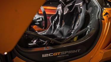 McLaren 12C GT Sprint racing seats