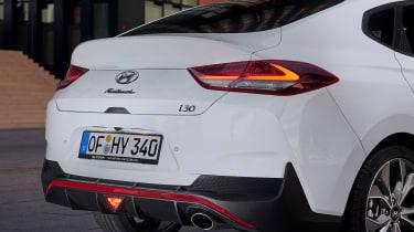 Hyundai i30 Fastback N-Line - rear