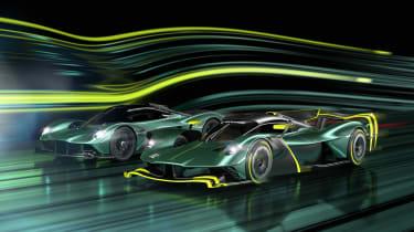 Aston Martin Valkyrie AMR Pro – twin