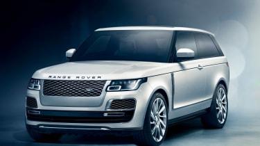 Range Rover Coupe SV - front quarter