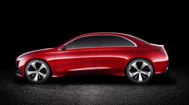 Mercedes-Benz Concept A Sedan side