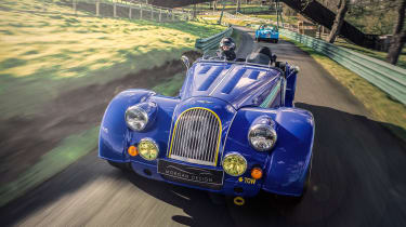 Morgan Plus 8 50th Anniversary Edition –  front