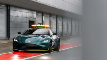 Aston Martin Vantage safety car - front