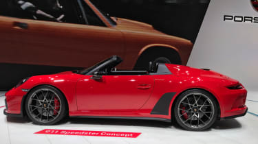 Porsche 911 Speedster - profile