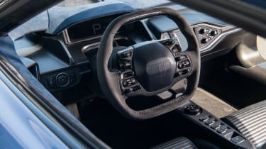 Road-legal supercars – Ford GT interior