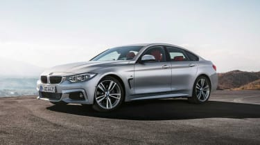 BMW 4-Series Gran Coupe front corner