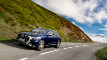 Audi SQ8 TDI review - front
