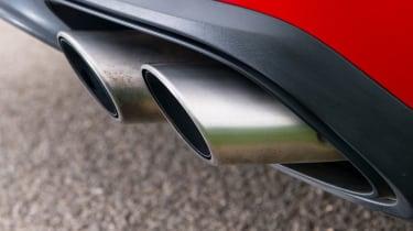 Porsche Panamera Turbo – exhaust