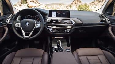 BMW X3 xDrive30d - interior