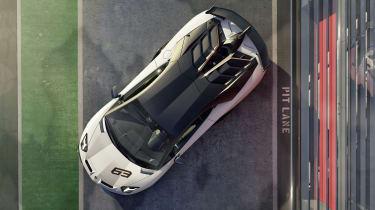 Lamborghini Aventador SVJ - top