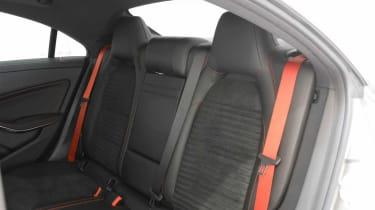 Brabus-tuned Mercedes CLA 45 AMG rear seat