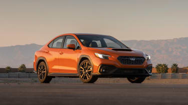 All-new 2022 Subaru WRX – front quarter