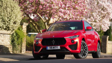 Maserati Levante Trofeo – front quarter static