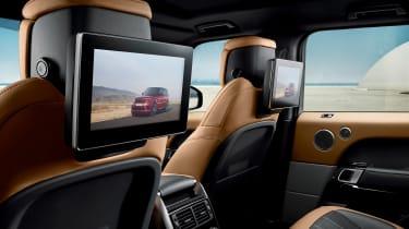 Range Rover Sport - on road interior rear