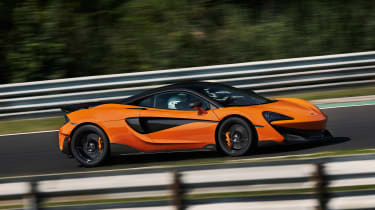 McLaren 600LT first drive - side