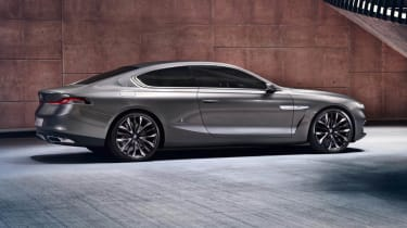 BMW Gran Lusso Coupe rear