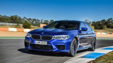 BMW M5 review - track