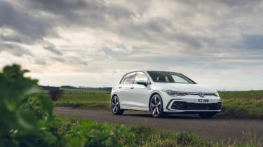 Volkswagen Golf GTD 2021 review - front static