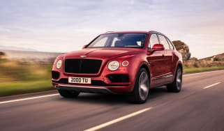 Bentley Bentayga V8 petrol - front